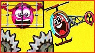 getlinkyoutube.com-Red Ball - Красный Шарик. Смотреть ИГРУ как МУЛЬТИК для детей малышей [ФАНИК]