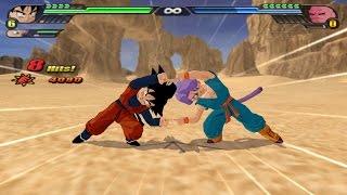 getlinkyoutube.com-Fusion Trunks and Songoten into Gotenks Super Saiyan 4 (Dragon Ball Z Tenkaichi 3 Fusion Mod)