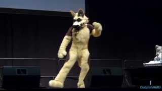 Anthrocon 2012 - Fursuit Dance Competition - Duke