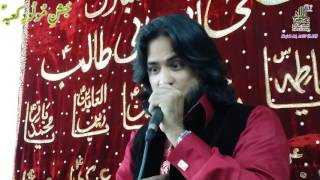 Syed Irfan Haider reciting - Rab e Abbas with Daad Sounds- in Bab Ul Hawaij Calgary Canada