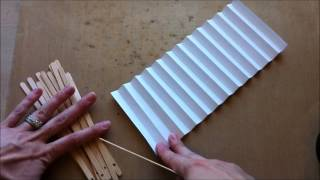 getlinkyoutube.com-Handmade Paper Fan ~ Tutorial ~