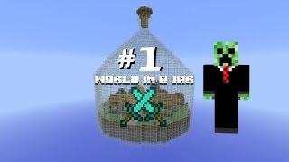 getlinkyoutube.com-Minecraft: Выживание в бутылке - Часть 1 - Куча алмазов