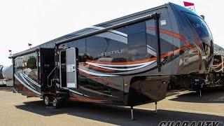 getlinkyoutube.com-2016 Lifestyle Luxury RV 38RS Fifth Wheel Video Tour • Guaranty.com