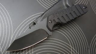 getlinkyoutube.com-SCHRADE SCHF16 Tactical Neck Knife Review