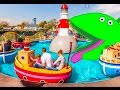Kids on a Boat ride  Peppa Pig World Park  Row Row Your Boat Song
