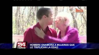 getlinkyoutube.com-Joven confesó estar muy enamorado de una anciana de 91 años en EEUU