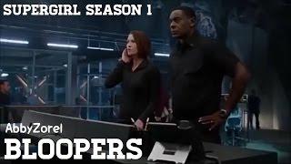 getlinkyoutube.com-Supergirl Season One Bloopers & Gag Reel