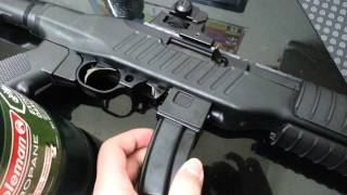 getlinkyoutube.com-Airsoft gun GBB Kjw 10/22 close up look / Súng hơi Kjw