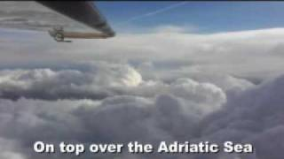 getlinkyoutube.com-Severe Icing conditions and thunderstorms encounter during a summer flight