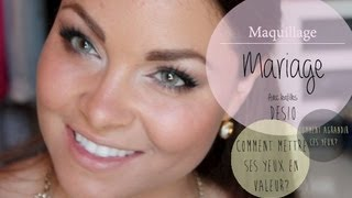 getlinkyoutube.com-YEUX, DESIO et MARIAGE? :: EYES, DESIO, WEDDING makeup turotial (FRENCH)