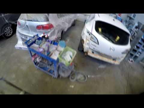 Prep Work: RAW Footage Mazda 3