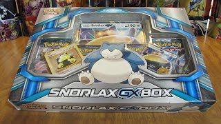 getlinkyoutube.com-Pokemon TCG Snorlax GX Box Opening