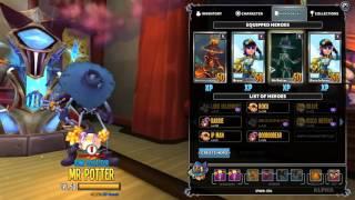 getlinkyoutube.com-Dungeon Defenders 2: Ability Power 44kDPS Burn Apprentice Build! October Monthly Pet Ability!!