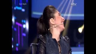 getlinkyoutube.com-ياسمينا العلواني في برنامج خليها علينا علي mbc1