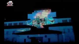 getlinkyoutube.com-Video Mapping Gedung Sate 2013 - De Syukron 3 _full audio