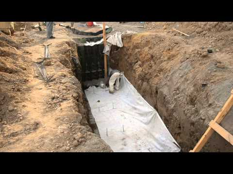 Panaweb GeoCeldas Villa Lobos - Muro de GeoCelda contra deslizamiento