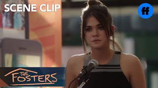 getlinkyoutube.com-The Fosters | 3x20 Clip: Callie's Speech| Freeform
