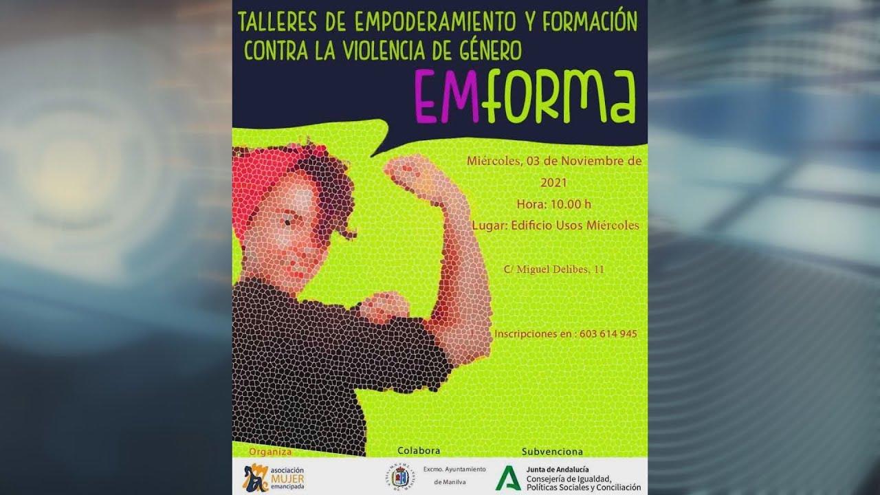 Talleres contra la violencia de género «EMFORMA»