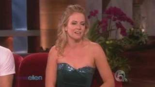 getlinkyoutube.com-Ellen DeGeneres Show - Melissa Joan Hart & Mark Ballas Dance