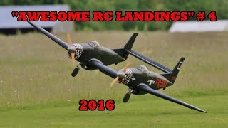 "getlinkyoutube.com-""AWESOME RC LANDINGS"" - WW2 FIGHTERS LANDING COMPILATION # 4 - 2017"