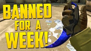 GETTING YOUR FRIEND BANNED! - CS GO Funny Moments in Competitive