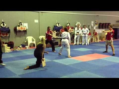 Taekwondo Board Break - Hanmadang 2013 - Factorten Martial Arts