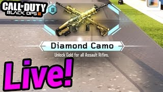 getlinkyoutube.com-DIAMOND ASSAULT RIFLES! - Black Ops 3 Unlocking Diamond Assault Rifles LIVE! (BO3 GAMEPLAY)