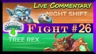 getlinkyoutube.com-Skylanders Swap Force Battle Mode Gameplay 4th PVP Tournament Night Shift Vs Tree Rex F#26