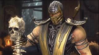 getlinkyoutube.com-Mortal Kombat 9 - Story Mode - Intro + Scorpion Part HD