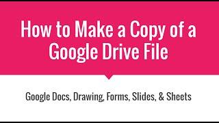 getlinkyoutube.com-How to Make a Copy of a View Only Google Document
