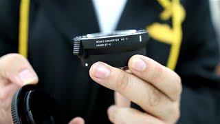Sigma MC-11 Converter مراجعة محول العدسات