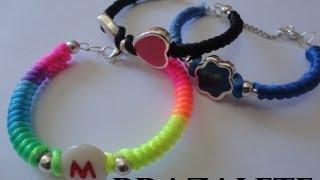 getlinkyoutube.com-pulseras tipo brazaletes  multicolor paso a paso diy