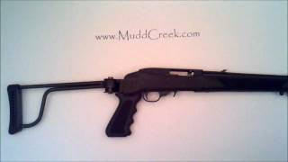 getlinkyoutube.com-Butler Creek Ruger 10/22 Folding Stock Review by MUDD CREEK