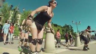 getlinkyoutube.com-Rollers Girls 2016 - las chicas patinadoras de Impulso Urbano
