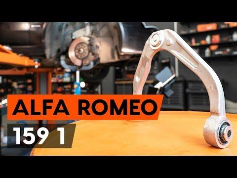 Где сайлентблоки передних рычагов в Альфа Ромео 147
