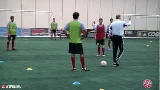 """Roy Dunshee's session, """"Functional Training for the Modern Holding Midfielder"""""""
