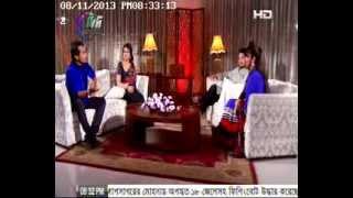 getlinkyoutube.com-celebrity talk show valobasar sondhi (sajal_bindu) @ Tamim Hasan & Faria