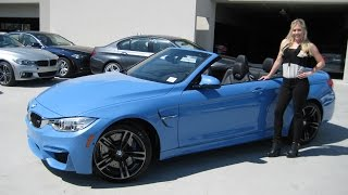 NEW BMW M4 Yas Marina Blue / Adaptive M Suspension / Exhaust Sound / BMW Review