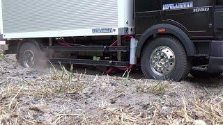 getlinkyoutube.com-tamiya mercedes 1850l    playing with my truck