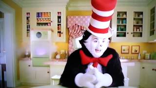 Cat in the hat making cupcakes