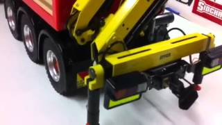 getlinkyoutube.com-RC Truck Crane on Scania 10 x 6