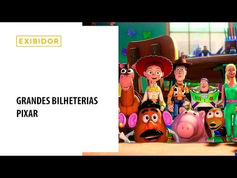 Grandes bilheterias - Pixar