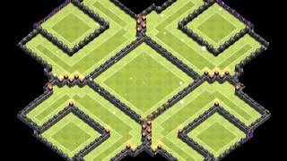 getlinkyoutube.com-Clash of Clans - Th10 Farming Base (275 walls) - Th11 Update-