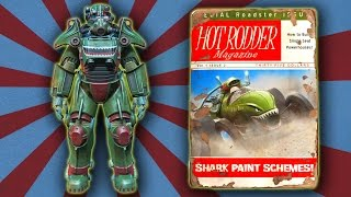 getlinkyoutube.com-Fallout 4 - Hot Rod Shark Scheme Power Armor Paint Guide
