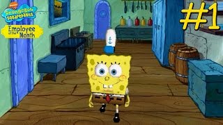 getlinkyoutube.com-SpongeBob SquarePants: Employee of the Month - PC Walkthrough Gameplay Chapter 1