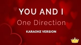 One Direction - You and I (Karaoke Version)