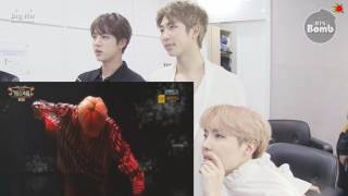 [BANGTAN BOMB]JIMIN LIE Jin, RM and j-hope Monitoring Time