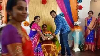 getlinkyoutube.com-Sahasra Half Saree Function