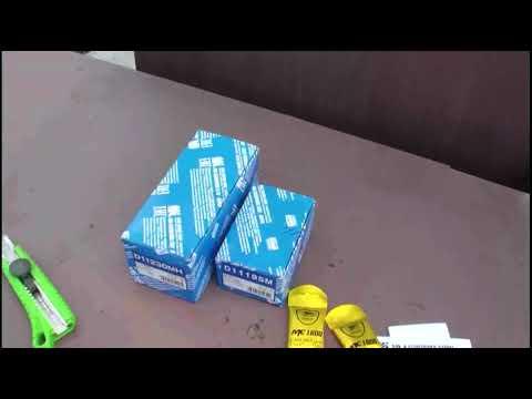 KIA Sportage замена передних тормозных колодок