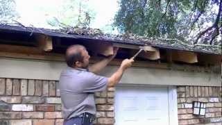 getlinkyoutube.com-How to fix roof damage from a fallen limb/avoid insurance claim.
